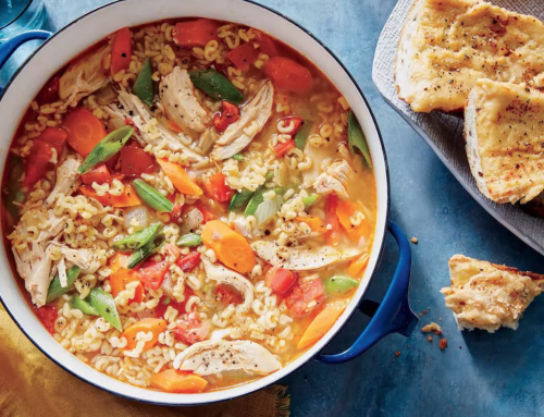 Recipe of the Weekend: Easy Chicken Minestrone