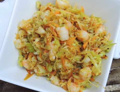 Recipe Of The Weekend: Paleo Shrimp Egg Roll Bowl