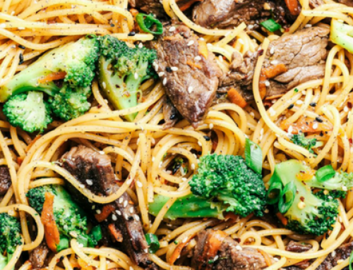 Recipe of the Week: Garlic Beef & Broccoli Lo Mein
