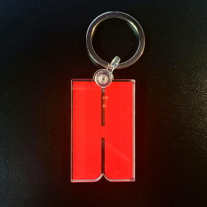 Red H Nutrition Keychain