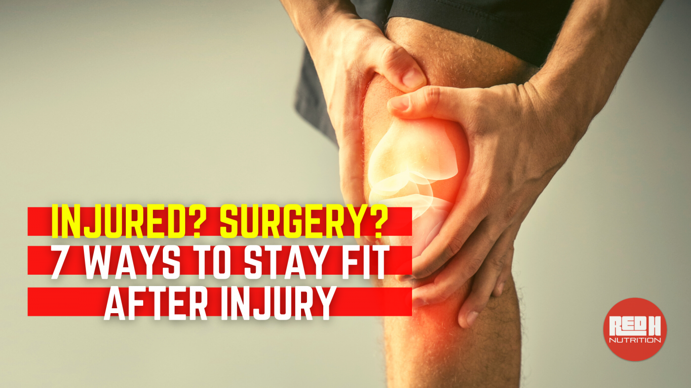 Stay Fit After Injury